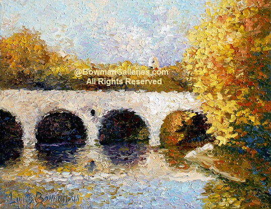 Painting - Arches In Fall