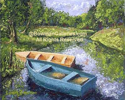 Painting - Boats