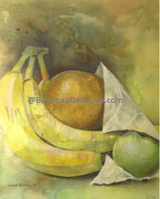 Painting - Going Bananas