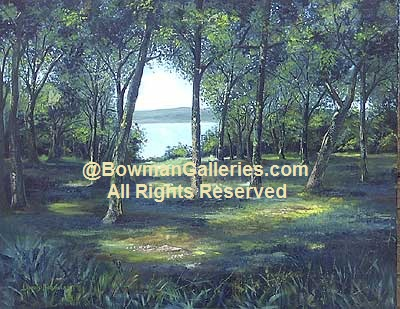 Painting - Lake View
