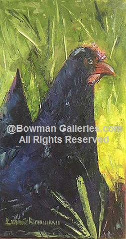 Painting - Mama's Chicken