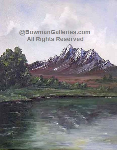 Painting - Mountain Tops