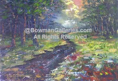 Painting - Narrow Path