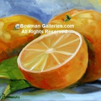 Painting - Oranges