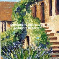 Painting - Stairs