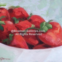 Painting - Strawberries