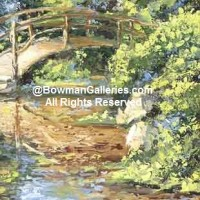 Painting - The Bridge