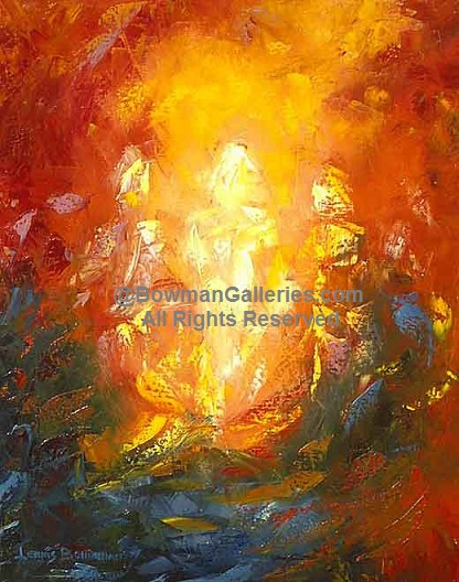 Painting - Transfiguration