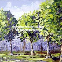 Painting - Trees